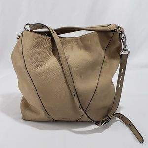 Rebecca Minkoff Tan Leather Crossbody Shoulder Bag